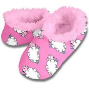 Womens Fuzzy Slippers