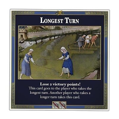 Longest Turn Game Card   Unofficial Settlers Of Catan Expansion