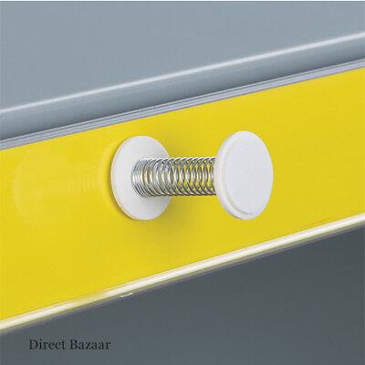 10 x Self Adhesive Spring Wobbler, Length: 37mm x Ends Diameter: 20mm
