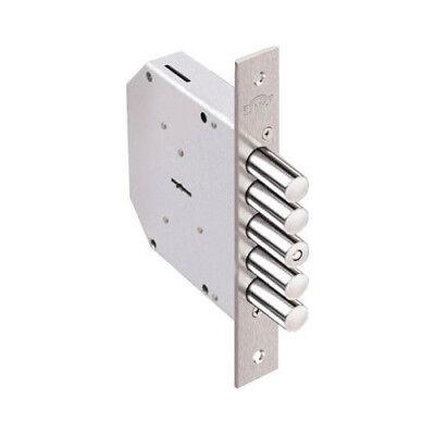 Elbor Lock Super High Security Lever Motions Door Main Lock 5 Keys Mortise Type