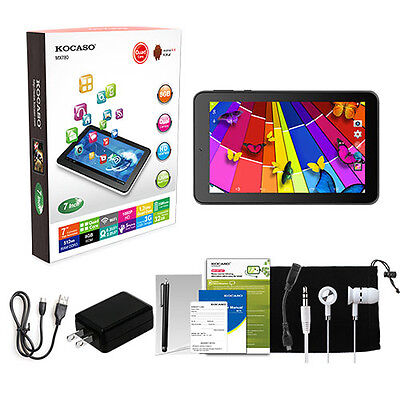 """7"""" Inch Android 4.4 KitKat Tablet PC 8GB Quad Core Dual Camera 1.3 GHz Xmas Gift"""