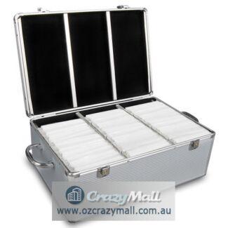 Aluminium CD/DVD/Bluray Storage Case 240/500/1000 Discs