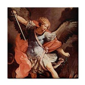 St-Michael-Archangel-Patron-Saint-Military-Ceramic-Tile