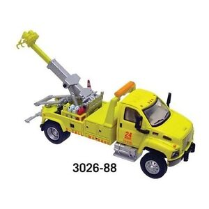 1:87 HO Scale Boley GMC Wrecker Tow Truck 3026-88