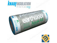 Knauf Earthwool Acoustic Partition Insulation Roll Wall Floor Roll | 25mm 50mm 75mm 100mm