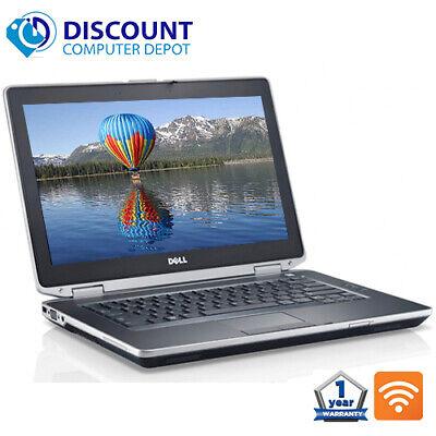 """Dell Laptop Latitude 14.1"""" Computer PC i3 8GB 1TB HD HDMI Wifi DVD Windows 10"""