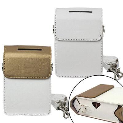 Printer Case Bag For Fujifilm Instax Share Printer Sp2   White   Gold