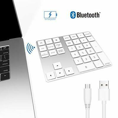Bawanfa Bluetooth Numeric Keypad, Wireless Keyboard 34-key External Number Pad