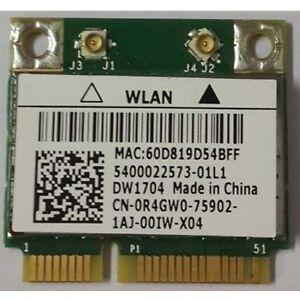 WiFi 300Mbps Bluetooth Network Card DW1704 for Laptops DELL or a