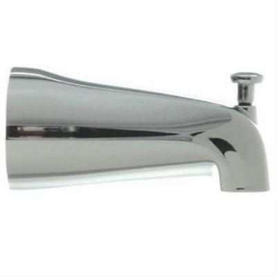 "Danco Chrome 5"" Slip-On Bathtub Spout with Diverter #88434"
