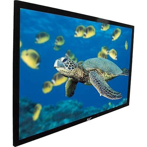 "Elite Screens ezFrame 120"" Home Theater Projector Screen Black R120WH1-A1080P3"