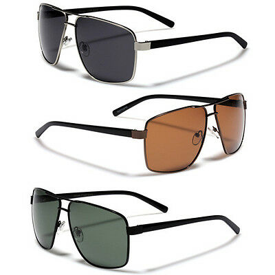 Polarized Men's Square Aviator Sun Glasses Sports Fishing Golf Driving Cheap (Inexpensive Polarized Sunglasses)