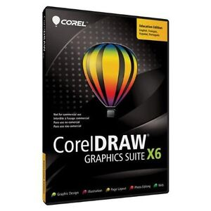 Brand new Corel DRAW Graphics Suite X6 with Free Shipping