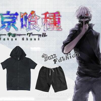 Kostüm für Schwarz Mode Tokyo Ghoul Cosplay Manga Voll Set Karneval Kaneki Ken