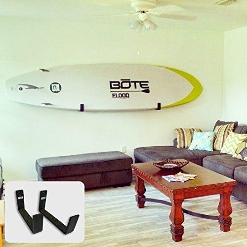Naked SUP | Minimalist Paddleboard Wall Display Rack | StoreYourBoard | NEW