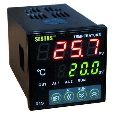 Ac 100-220v Dual Digital Pid Temperature Controller Thermostat D1s-vr-220