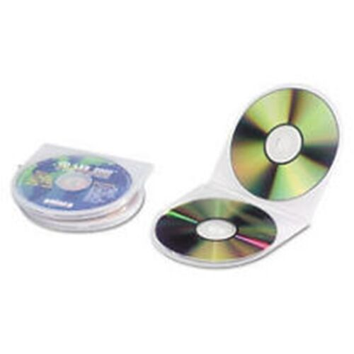 200 Clam Soft Shell  CD-DVD Storage Cases, Universal 87825 ~ Free Shipping