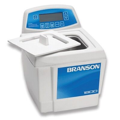Branson Cpx1800h 0.5 Gal Ultrasonic Cleaner Digital Timer Heater Degas Temp Mon.
