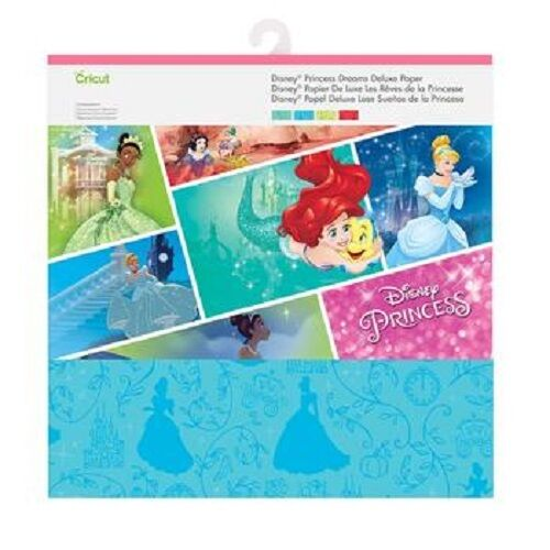 как выглядит New Arrivals Cricut Deluxe Paper - Disney Princess Dreams фото