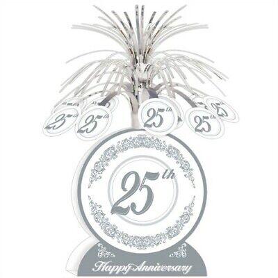 25th Anniversary Centerpiece 13 Inch Anniversary Party Supplies Decorations (25th Anniversary Party Supplies)