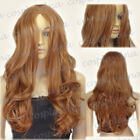 Light Brown Fashion Wavy Wigs & Hairpieces