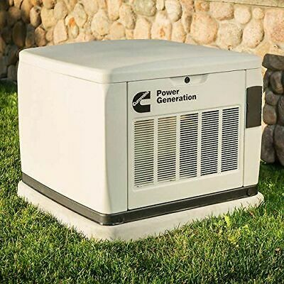 Cummins 20kw Connect Series Home Standby Generator System W Transfer Switch
