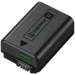 Battery & Dock Charger For Sony Alpha NP-FW50 Li-ion FW50