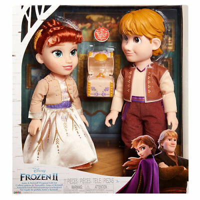 Disney Eiskönigen Frozen 2 Anna und Kristoff Spielzeug Puppen Zubehör Spielzeug