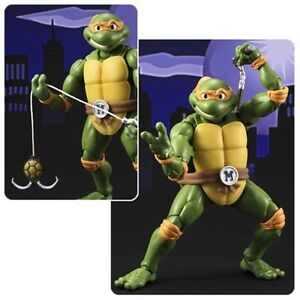 TMNT Michelangelo S.H. Figuarts Action Figure now available!
