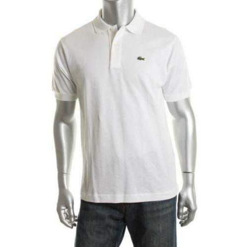 Lacoste polo white casual shirts ebay - Lacoste poloshirt weiay ...