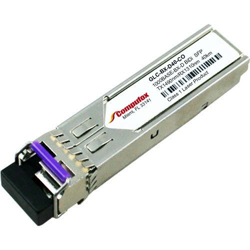 GLC-BX-U Cisco Compatible 1000BASE-BX-U 1310nmTX//1490nmRX 10km Transceiver