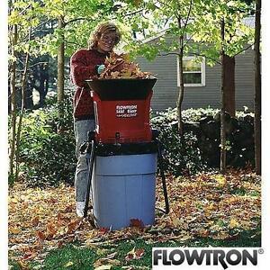 USED FLOWTRON LEAF EATER SHREDDER - 111279441 - LEAF EATER SHREDDER AND MULCHER