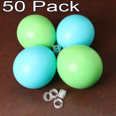 50 Balloon Rings Wedding Arch Clip Supplies Connectors Lot Party Decoration  Wedding Arch Decorations
