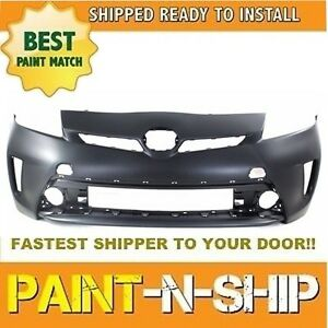 NEW fits 2012 2013 2014 2015 TOYOTA PRIUS Front Bumper PaintedTO1000394
