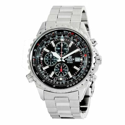 Casio Mens Edifice Stainless Steel Multi Function Chronograph Watch Ef527d 1Av