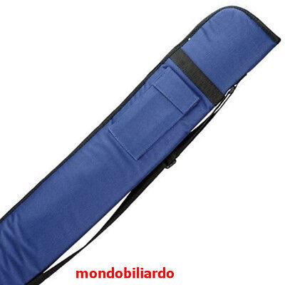 FODERO 1C 1P STECCA DA BILIARDO POOL INTERNAZIONALE 5 BIRILLI MOD. PRINCE BLU
