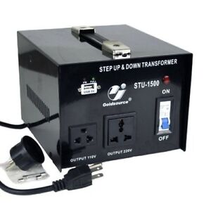 VOLTAGE CONVERTER (TRANSFORMER) STEP UP STEP DOWN 1500 WATTS