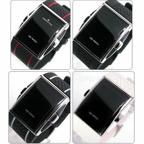 New Luxury Men's Fashion LED Digital Date Sports Quartz Waterproof Wrist Watch