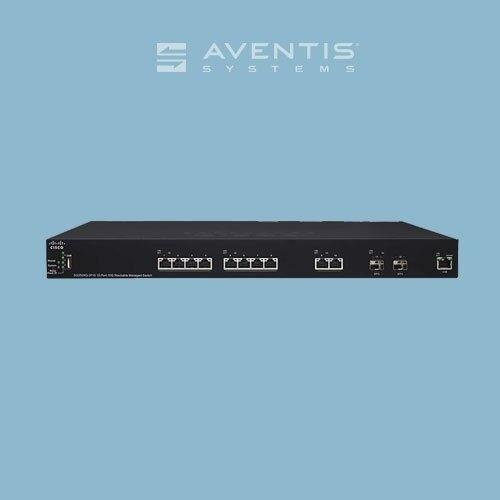 New Cisco Sg350xg-2f10-k9-na Managed Switch 12 Ports