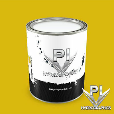 Pi Hydrographic Water Based Paint Pint Hydro Dipping Paint-bright Yellow