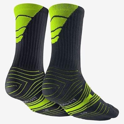 Nike Performance Gepolstert Fußball Socken Stil SX4561-071 Größe 6-8 (M) 2-Pairs (Nike Performance Socken Gepolstert)
