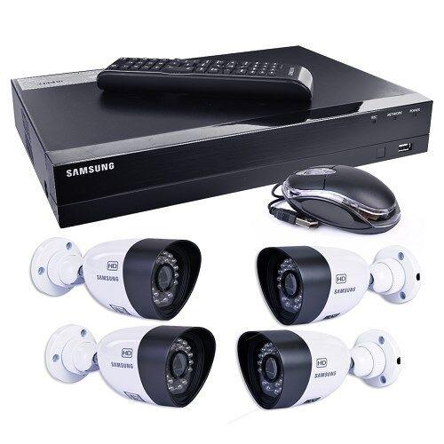 Samsung SDH-B3040 4-CH 1TB HD DVR Home Security System w/ 4 Night-Vision Cameras