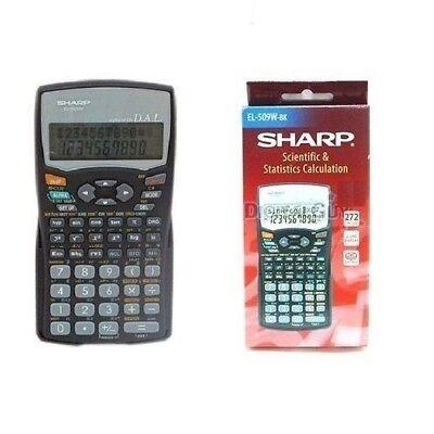 Sharp EL-509W-BK Scientific Calculator