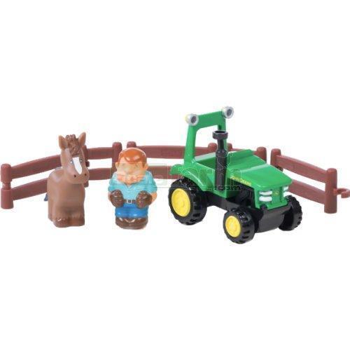 Britains 3067A1 John Deere Tractor Fun Playset First Farming Fun Childrens Toy