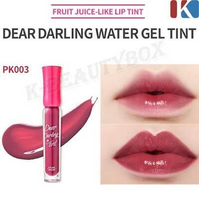LIP TINT Dear Darling Water Gel Tint #PK003 Sweet Red Lip Stain Korea Cosmetic Red Lip Tint