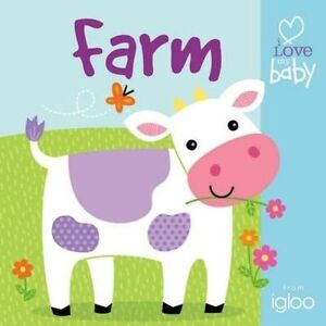 Playtime Pals: Farm (I Love My Baby - Buggy Boards)-ExLibrary