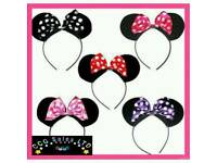 Minnie Mouse Themed Ears Headband