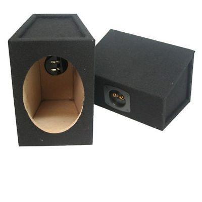 Bass Box Cajas 6x9 DM tapizado Altavoz con bornes car audio pareja