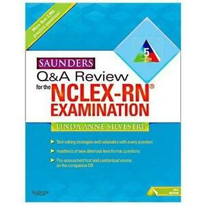 Saunders nclex books ebay saunders nclex rn fandeluxe Image collections