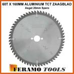 60T x 160mm ALUMINIUM tct zaagblad - asgat 20mm SPERO